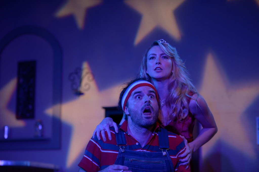 Jason Newman and Rebecca Pearcy in Trevor by Nick Jones (Photo by Wes Raitt)