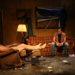 Joe Reynolds and Joey Hood in Killer Joe by Tracy Letts