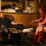 Joe Reynolds and Katie DeBuys in Killer Joe by Tracy Letts