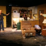 Kenneth Wayne Bradley, Joey Hood, Katie DeBuys and Joe Reynolds in Killer Joe by Tracy Letts