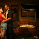Katie DeBuys and Joe Reynolds in Killer Joe by Tracy Letts