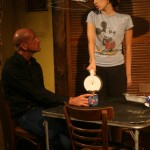 Kenneth Wayne Bradley and Melissa Recalde in Killer Joe by Tracy Letts