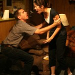 Joey Hood and Melissa Recalde in Killer Joe by Tracy Letts