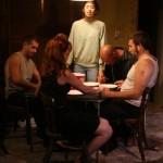 Joey Hood, Katie DeBuys, Melissa Recalde, Kenneth Wayne Bradley and Joe Reynolds in Killer Joe by Tracy Letts