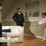 Joey LePage, Joe Reynold, and Rebecca Robinson in SICK by Zayd Dohrn