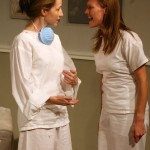 Rebecca Robinson and Tayler Gill in SICK by Zayd Dohrn
