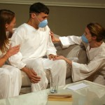 Tayler Gill, Stephen Mercantel, and Rebecca Robinson in SICK by Zayd Dohrn