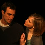 Mark Scheibmeir and Liz Fisher in Dying City by Christopher Shinn