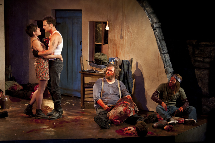 Capital T Theatre » The Lieutenant of Inishmore by Martin